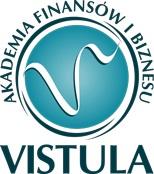 Академія Фінансів та бізнесу Вістула - logo